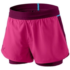Dynafit Alpine Pro 2-in-1 Shorts Dames, flamingo